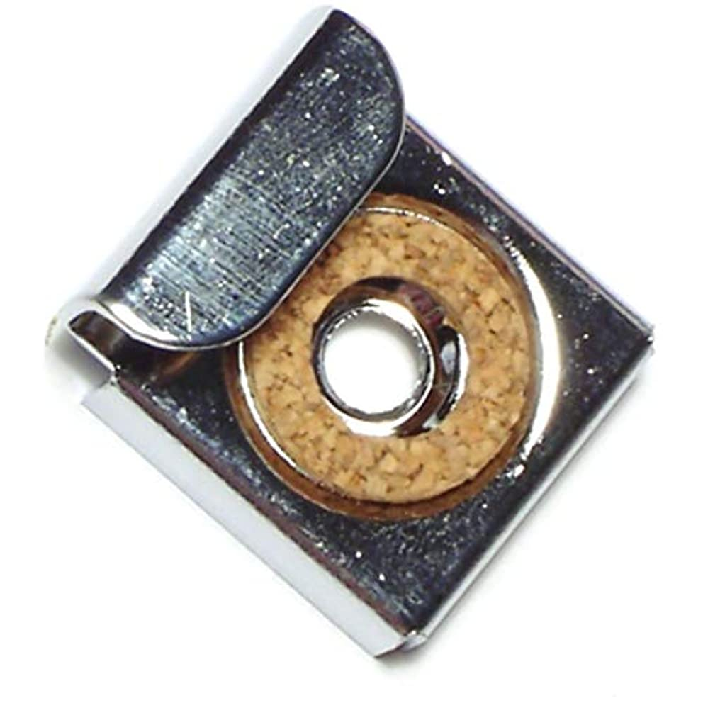 Hard-to-Find Fastener 014973157333 Mirror Clips, Spring-Loaded Top, Piece-2
