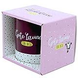 Sheepworld 46458 Gute Laune, Porzellan, 35 cl, Rosa, Geschenk-Box Tasse