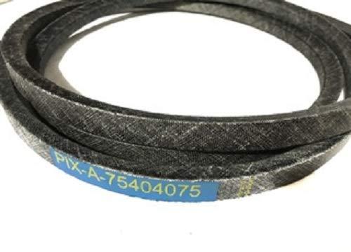 A-75404075 - Correa de repuesto para cortacésped de jardín (fabricado con kevlar MTD 754-04075)
