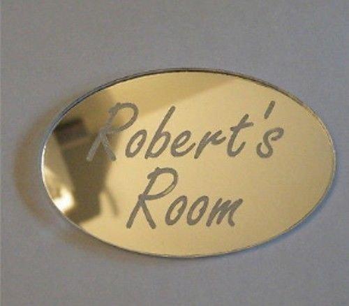 Personalizado de puerta Nombre Placa de niño o niñas Dormitorio Habitación