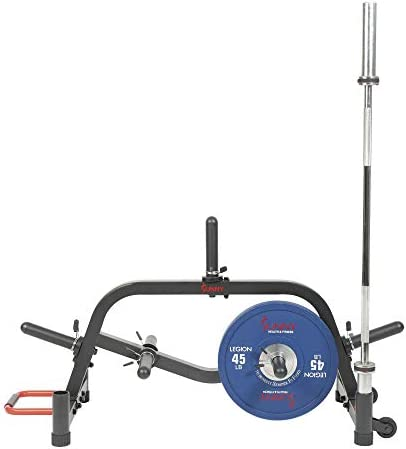 Sunny Health Fitness Multi Weight Plate and Barbell Rack Storage Stand SF XF9938 Black product image