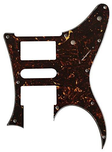 Golpeador de guitarra personalizado para Ibanez RG 350 EX estilo zurdo, Tortuga marrón de 4 capas.