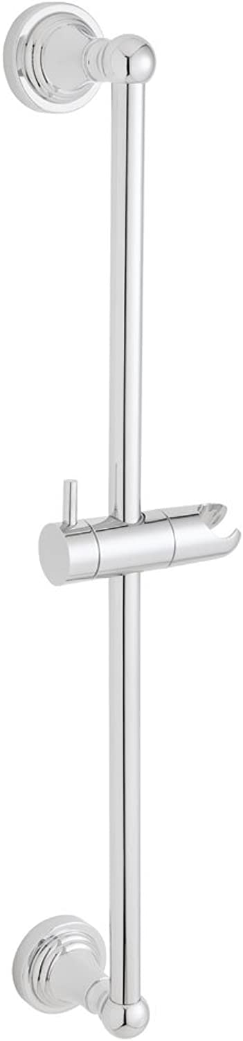 Speakman SA-1102 Alexandria Adjustable Slide Bar for Handheld Shower, Polished Chrome