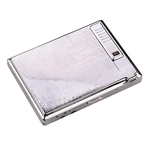 BNMY Módulo De Caja De Cigarrillos con Encendedor Eléctrico USB Separable Recargable...