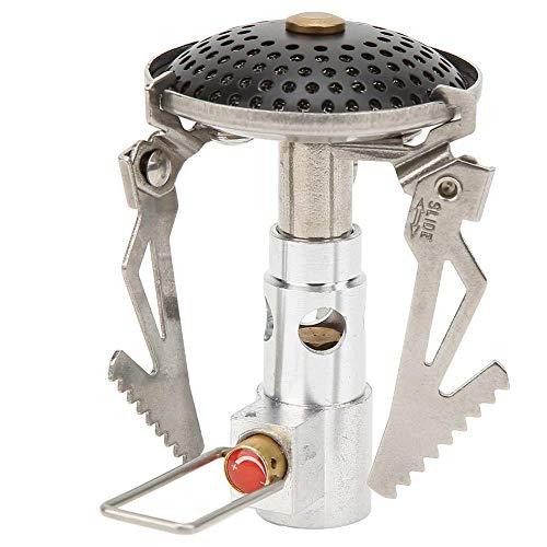 dgtrhted Potente Estufa de una Pieza portátil al Aire Libre Potente Quemador de Gas para cocinar de Picnic
