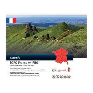 Topo Carte Garmin France Pro V4.01 2017 sur Micro SD