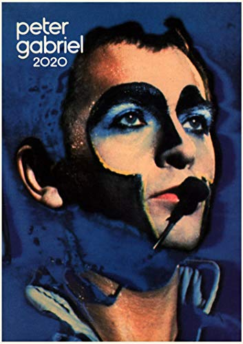 Calendario de pared 2020 [12 páginas 8 x 11 pulgadas] The Genesis and Peter Gabriel Art Rock Music Vintage Revista Póster de fotos