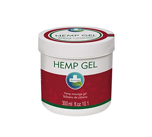 HEMP GEL - Gel natural a base de cáñamo y alcanfor para alivio y masaje (300 ml)