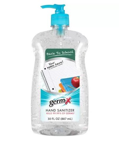 Germ-x 1000031026 Original Hand Sanitizer, 30 Fl Oz.