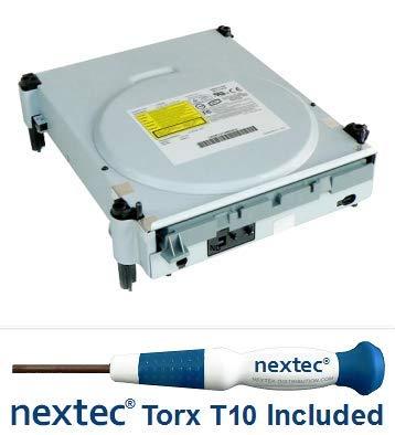 Microsoft Xbox 360 Laufwerk - Phillips: Liteon (DG-16D2S: A0A1/A0A2) + Nextec® Torx T10 Security Schraubendreher