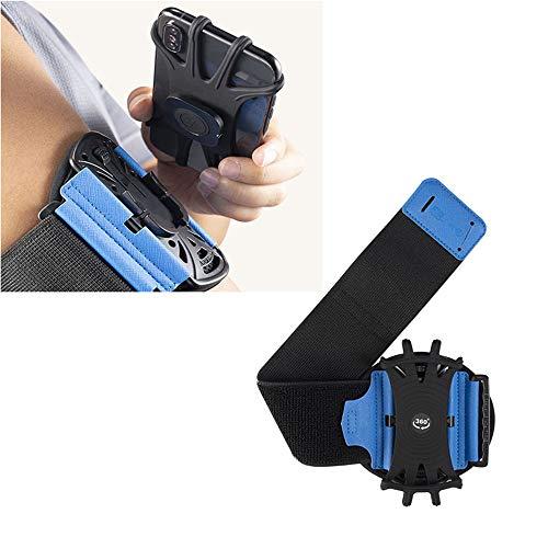 Afneembare sportarmband, draaibare ademende sportuitrusting Arm mouw, voor buitensporten Hardlopen Oefening Gym Sporttrainingen
