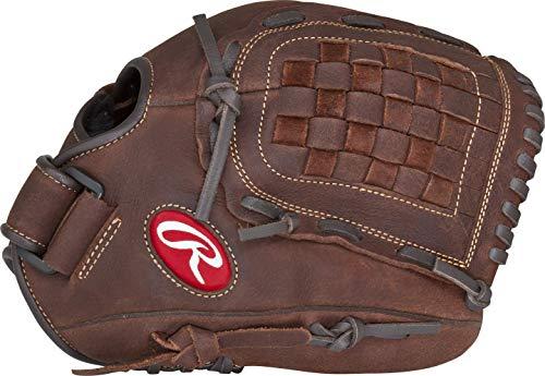 Rawlings Player Preferred Baseball Glove, Regular, Slow Pitch Pattern, Basket-Web, 12 Inch