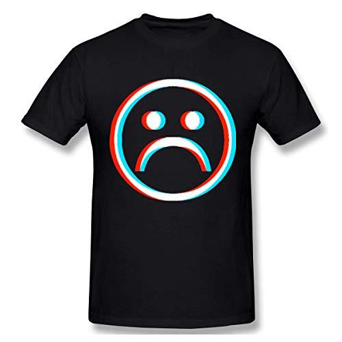 Ao Li Ka KDHRTI Homme T-Shirt,Men's J. Balvin Mi Gente Casual Short Sleeve T-Shirts Black