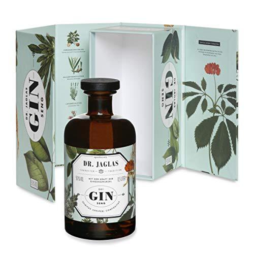 Dr. Jaglas Gin Seng | Wacholderbeer-Spiritus als Einzelflasche mit 500 ml | 50% Vol… - 2