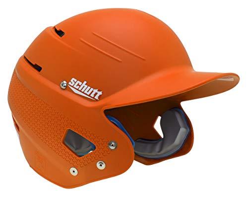Schutt XR1 AiR MAXX Baseball Batters Helmet One Size Fits Matte Burnt Orange Junior