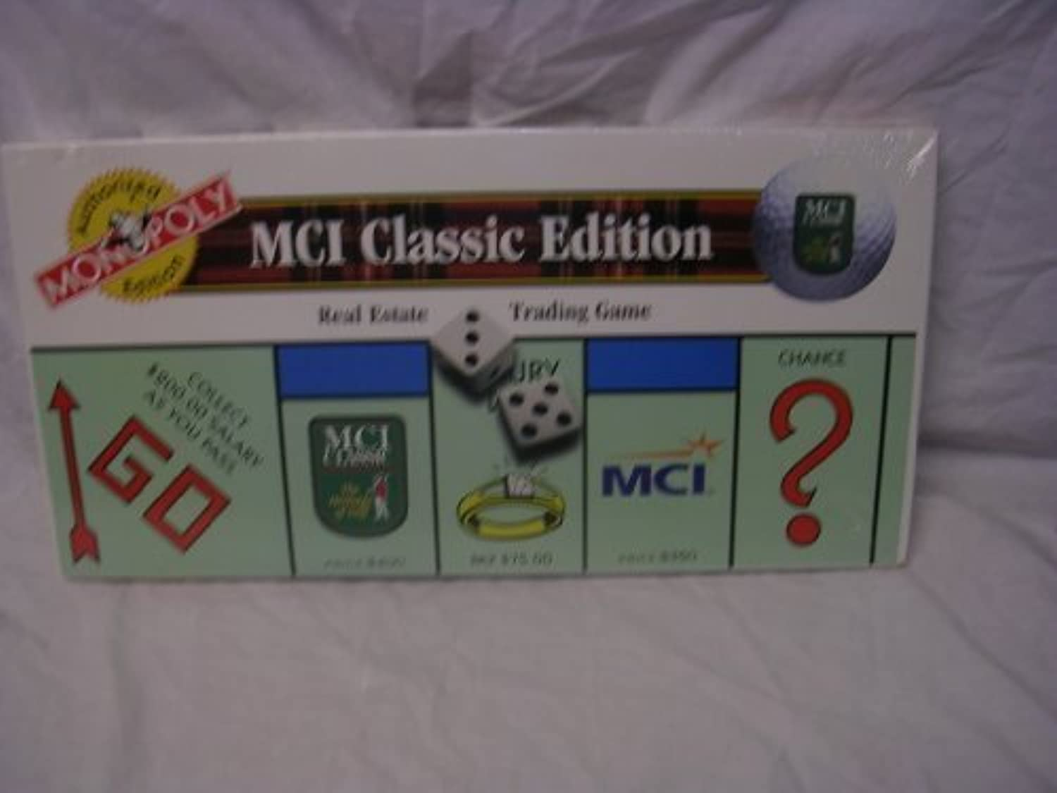 MCI Classic Edition Monopoly Collectors Limited Ediiton by USAopoly