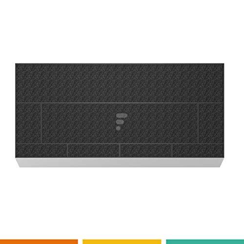 Fac - Filtre à charbon FC26-39,6cm x 19,7 x 2.8cm - Compatible hotte Neff Z5144X5 Z5144X1 Bosch DHZ4506 Siemens LZ45501 00434229 HZ4505 - LZ45500 00706593 00571889 00572574 00463036 Gaggenau KF280002