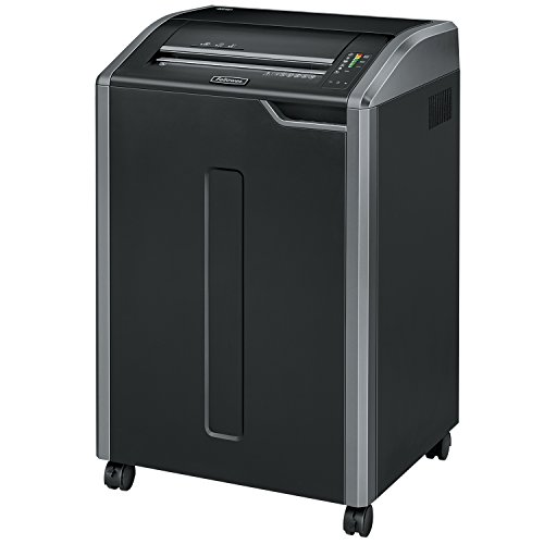 Great Features Of Fellowes 38485 Cross-Cut Shredder, 28 Sht Cap, 25x20x37-1/4, Gray