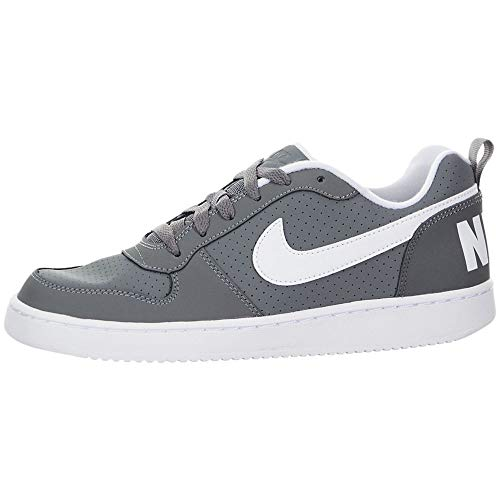 Nike Court Borough Low (GS), Zapatillas de Baloncesto Unisex Niños, Gris (Cool Grey/White 002), 40 EU