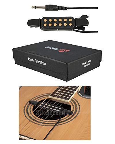 Silenceban™ Guitar Pickup Acoustic Electric Transducer Acoustic Guitar...