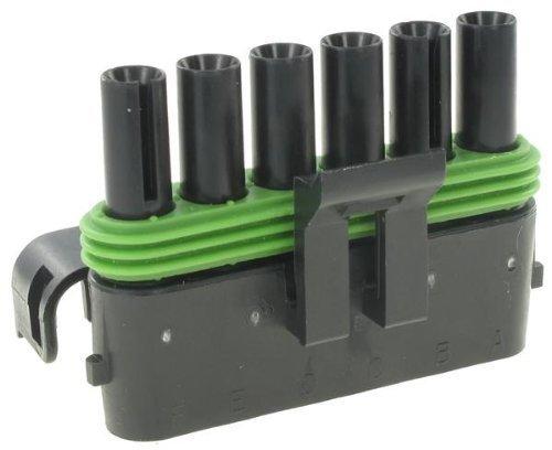 Automotive Connectors 6P FM BLK CON Max 46% OFF pieces 20 100 Finally popular brand AMPS ASSY
