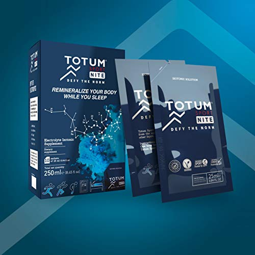 Totum Sport Nite - Remineralise and Repair Your Body While You Sleep - 100% Natural, isotonic Solution