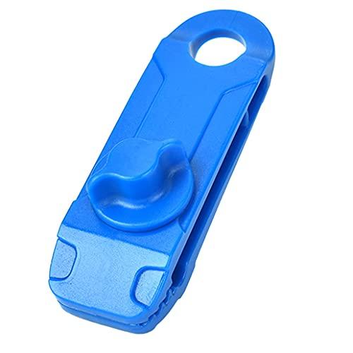 Clip de fijación de tienda de campaña de agarre fuerte, clip fijo para tienda de campaña, clip de linóleo reutilizable resistente