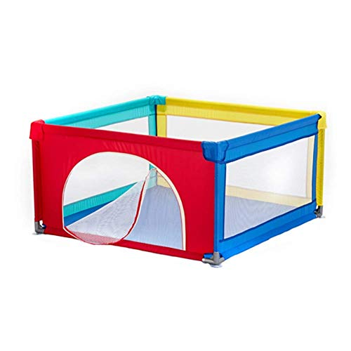 Parc portatif pour bébé parc d'enfant pour tout-petits, stylo jeu pour séparateur chambre pour enfants anti-renversement, barrière jeu en tissu Oxford pour centre d'activités (couleur: pas ballon, ta