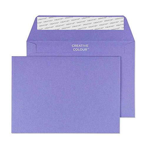 Blake Creative color C6 114 x 162 mm autoadhesivos sobre estío violeta - (25 unidades)