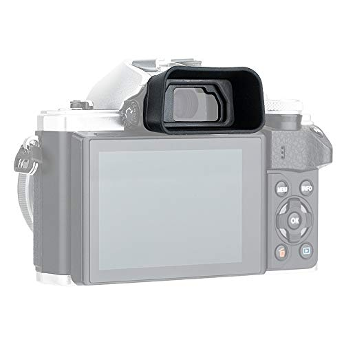 PROfezzion Große Augenmuschel Silikon für Olympus OM-D E-M5 Mark II, E-M5 Mark III, E-M10 Mark II, E-M10 Mark III Kamera Ersetzt Olympus EP-15, EP-16 Okular