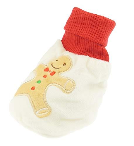 Glamour Girlz Chaussettes d'hiver chaudes et douces pour bébé fille ou garçon en pain d'épices jusqu'à 6 mois