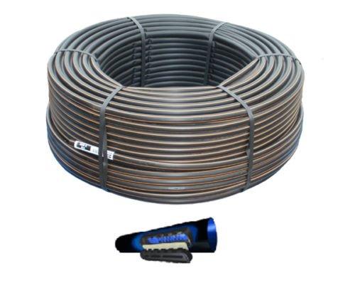 Tubo con gotero integrado autocompensante, de polietileno, 16pasos 30con gotero (rollo de 100 m)