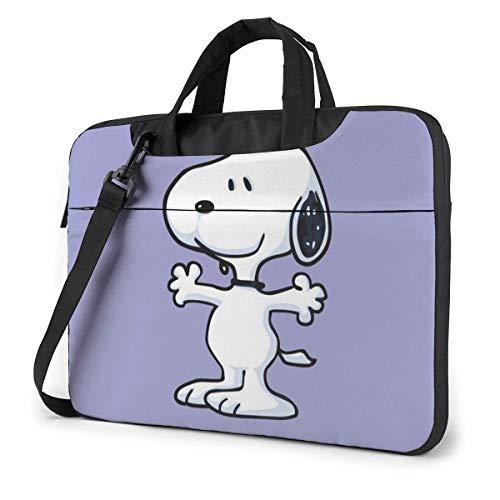 15.6 Inch Laptop Bag Snoopy Laptop Briefcase Shoulder Messenger Bag Case Sleeve