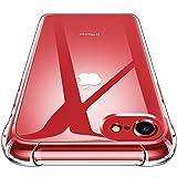 CANSHN Funda iPhone SE 2020, Funda iPhone 7/8,Carcasa Protectora Antigolpes Transparente con...