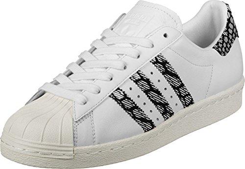 adidas Superstar 80S W, Scarpe da Fitness Donna, Bianco (Ftwbla Casbla), 38 EU