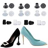 EQLEF Absatzschoner High Heels, Pfennigabsatzabdeckungen High Heels Kappen Grasstopper für den täglichen Gebrauch Hochzeit Formelle Anlässe
