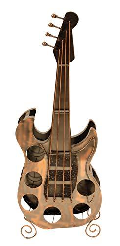 Weinregal Gitarre für 6 Flaschen Metall Weinflaschenhalter
