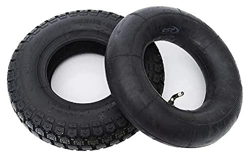 Neumáticos para patinetes eléctricos, neumáticos Interiores y Exteriores de 10 Pulgadas, Antideslizantes y Resistentes al Desgaste, adecuados para carritos de bebé/patinetes Neumáticos para Patine