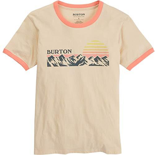 Burton Damen T-Shirt W Ashmore SS, Größe:S, Farben:Creme Brulee