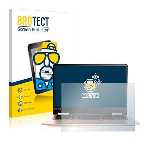 BROTECT Entspiegelungs-Schutzfolie kompatibel mit Lenovo Yoga 710 14IKB Displayschutz-Folie Matt, Anti-Reflex, Anti-Fingerprint