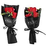 Rosas artificiales, forma exquisita, aplicación amplia, equilibrio de cuerpo y mente, flor para fiestas de baile
