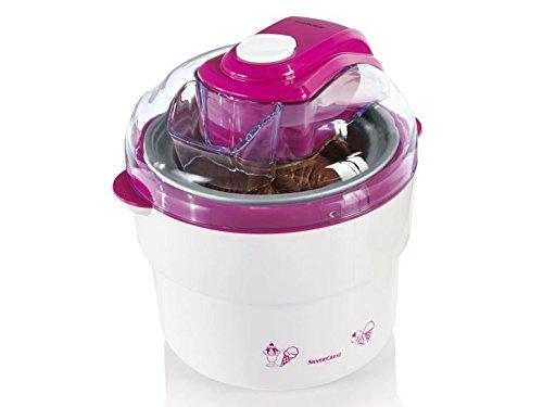 SILVERCREST Eismaschine SECM 12 A1 pink