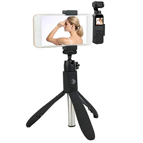 DAUERHAFT Soporte para Selfie Evite daños en la Cabeza de Datos Selfie Stick Clip para teléfono móvil 55-85 mm para OSMO Pocket Selfie