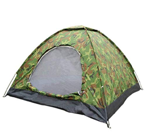 Isabella 2-persoons zonnescherm tent Camouflage vouwtent Bergbeklimmen camping winddichte tent
