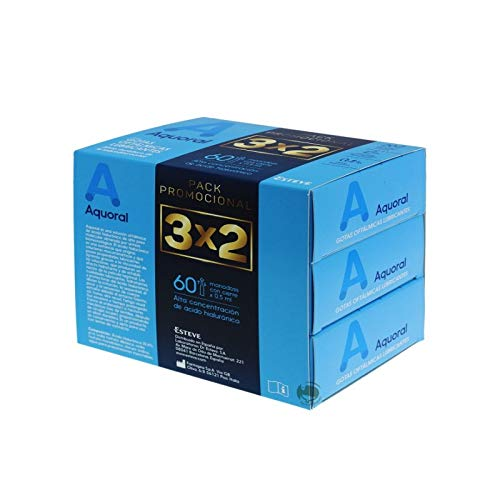 AQUORAL PACK 3X2 0.5ML 20 MONODOSIS
