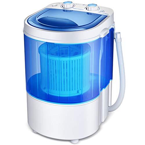 Hörsein Eléctrico Compacto de lavandería Máquinas Mini Lavadora con Secarropas regulador Giratorio...