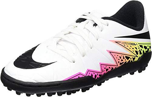 Nike Hypervenom Phelon II TF Junior Rasen Fußballschuhe, Scarpe da Calcio Bambino, Giallo (Volt/Hyper-Türkis/Klares Jade/Schwarz), 28.5 EU
