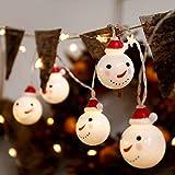Decoración De Navidad Luz De La Decoración Creativa De Cuerda Colgante Árbol...