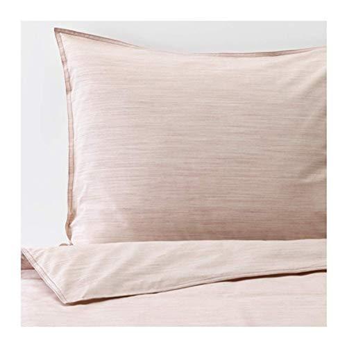 IKEA Skogsalm 904.233.21 - Funda de edredón y fundas de almohada, color rosa