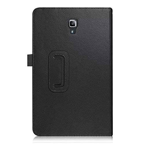 RZL Pad y Tab Fundas para Samsung Galaxy Tab S4 2018 10.5 '' SM-T830 T835, Slim Funda Smart Auto Sleep-Wake Up Flip Stand PU Funda para Samsung T830 T835 (Color : Negro)
